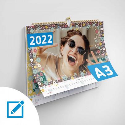Fotokalender A3 quer mit eigenen Bildern