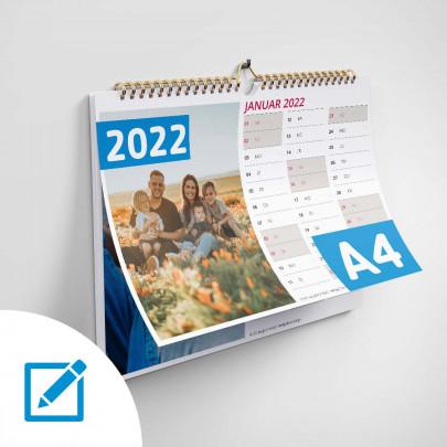 Kalender A4 online erstellen