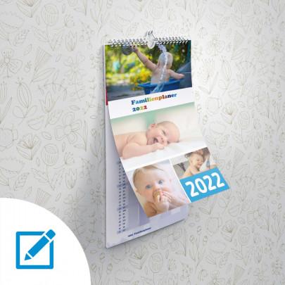 Kalender und Familienplaner A3 hoch 2022