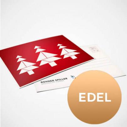 Weihnachtskarten edel