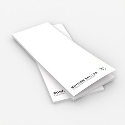 Bestellblock oder Kellnerblock mit Vorlage zum selber Anpassen