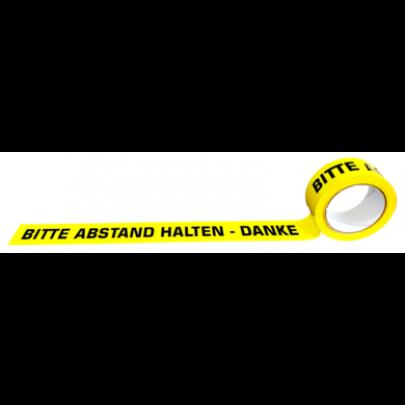 """Markierungs-Klebeband """"Warten"""" deutsch"""