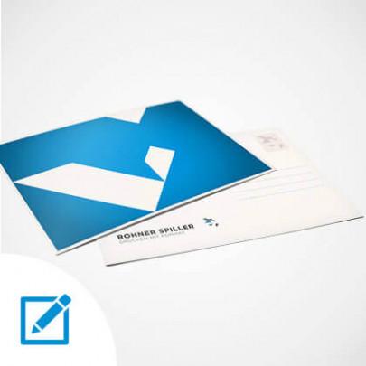 Postkarte selber gestalten