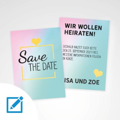 Save the date A6 Seelenverwandt
