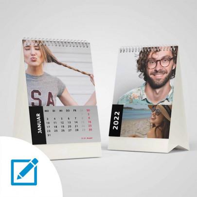 Tischkalender A7 für 2022 online erstellen