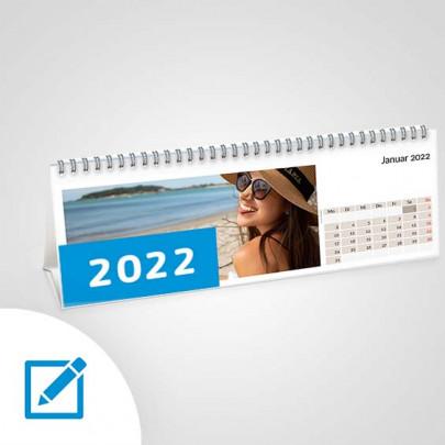 Tischkalender quer breit online erstellen