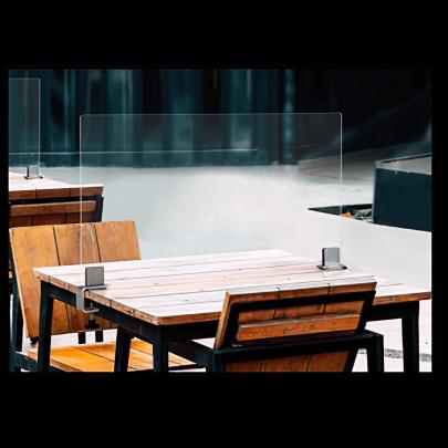 Tischklemmen quer