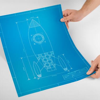 CAD-Pläne, Plan-Plot, Plankopien - Alles für Architekten, GU, Bauherren und Immobilienfirmen