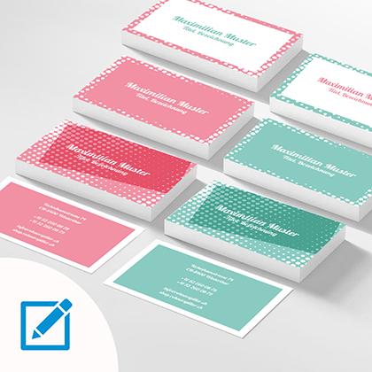 Visitenkarten Design Soft