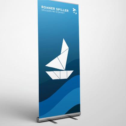 Rollup-Banner bedruckt