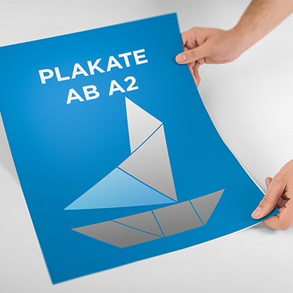Standard Plakat ab A2