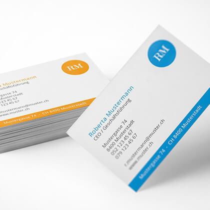 Visitenkarten Design easy