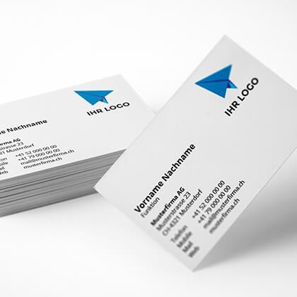 Visitenkarten drucken bei Rohner Spiller AG